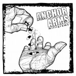 "Cover for ANCHOR ARMS ""Milligrams"" 7"", released by Fail Safe Records."