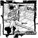Complete packaging for DAN PADILLA S/T CD, released by Fast Crowd Records.