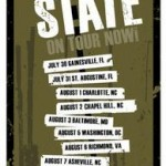 Tour poster for STEADY STATE.