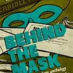Cover for upcoming superhero anthology, BEHIND THE MASK.
