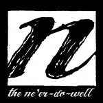 Revamped logo for the soon-to-be-relaunched online version of The Ne'er-Do-Well literary mag.