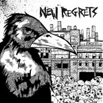 "NEW REGRETS 7"" cover on Clearview Records."