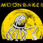 Shirt design for MOONRAKER.