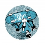 Shirt design for TEN FOOT POLE.