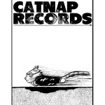 Shirt design for CATNAP RECORDS.
