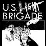 Shirt design for U.S. LIGHT BRIGADE.